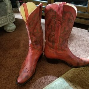 Lucchese Leather Boots